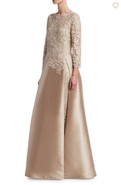 Preload https://img-static.tradesy.com/item/25273098/teri-jon-champagne-by-rickie-freeman-lace-slit-underlay-gown-long-formal-dress-size-6-s-0-0-650-650.jpg
