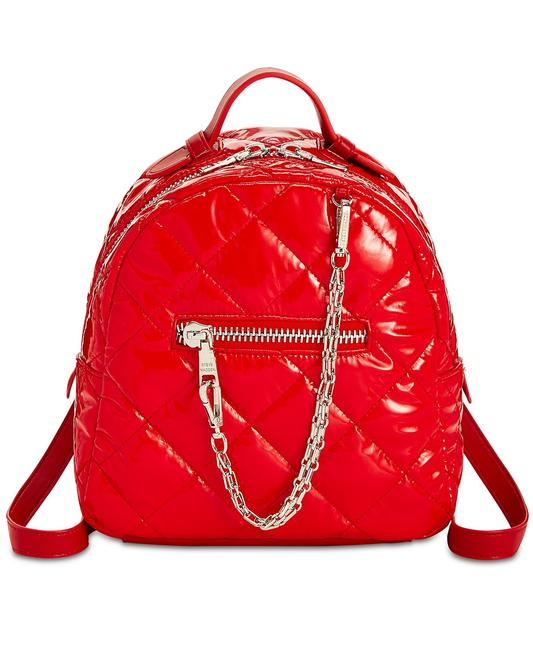 Item - Womens Quilted Jammin Red Nylon Backpack