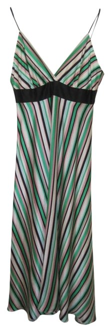 Preload https://item4.tradesy.com/images/helen-wang-striped-green-pinks-and-black-silk-mid-length-cocktail-dress-size-6-s-252733-0-1.jpg?width=400&height=650