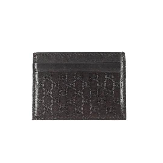 d9d3ca55e8d0 Gucci Micro Monogram Card Holder Wallet Image 0 ...