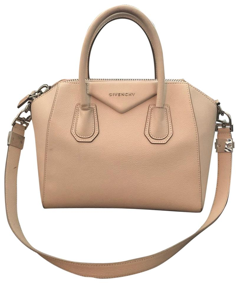 de7d1bc4ee Givenchy Antigona Cream Calfskin Leather Satchel - Tradesy
