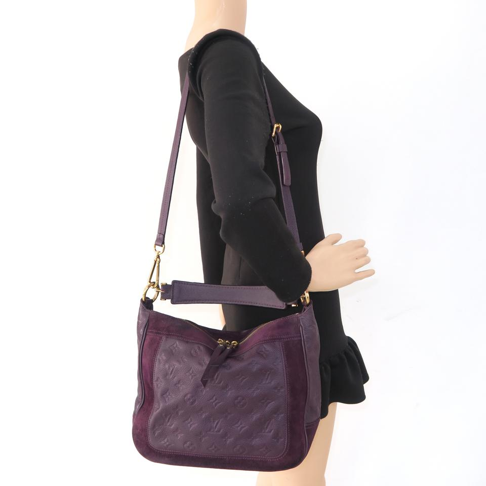 047327be22b0 Louis Vuitton Audacieuse Empreinte Pm Purple Calfskin Leather ...