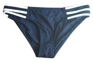 Jag JAG Black and White Stripe Bikini Bottoms