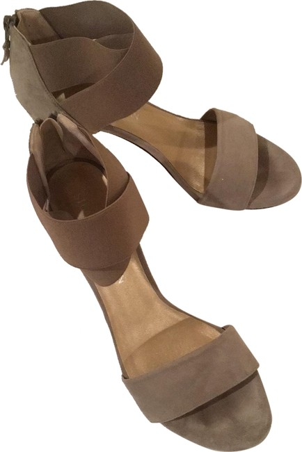 Item - Taupe (Rock ) Sexyflex Suede Platforms Size US 7.5 Narrow (Aa, N)