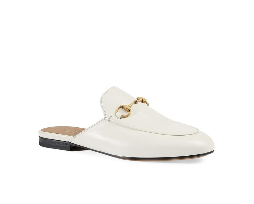 854ceecaa93e Gucci White Princetown Leather Slippers 12 Sandals. Size  EU 42 (Approx.