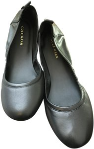 Cole Haan Leather Black Flats