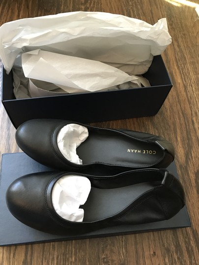 Cole Haan Leather Black Flats Image 2