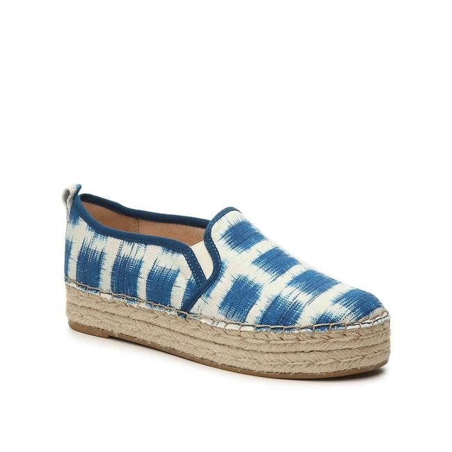 Item - Blue and White Carrin Platform Espadrilles Sneakers Size US 8.5 Regular (M, B)
