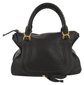 Chloé Leather Large Shoulder Bag