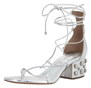 Michael Kors Collection silver Sandals