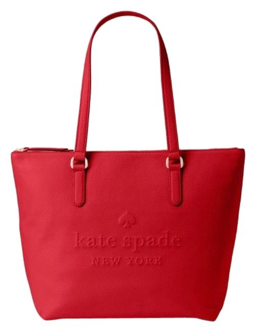 Item - Larchmont Avenue **msrp 399 Red Leather Tote
