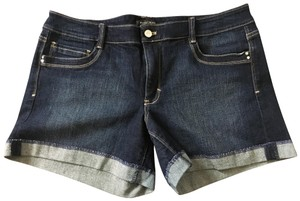 White House | Black Market Denim Shorts-Medium Wash