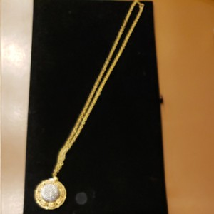 Miriam Haskell Vintage '50s Miriam Haskell Gold/Pearl Necklace