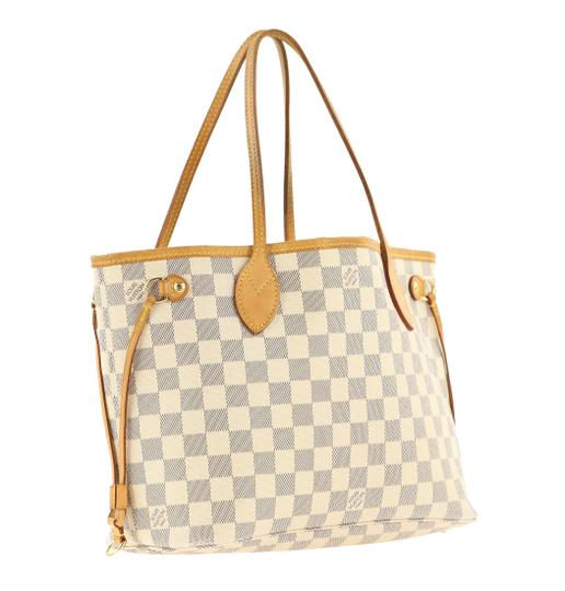 Louis Vuitton Neverfull Pm Damier Azur Tote in Blue Image 1