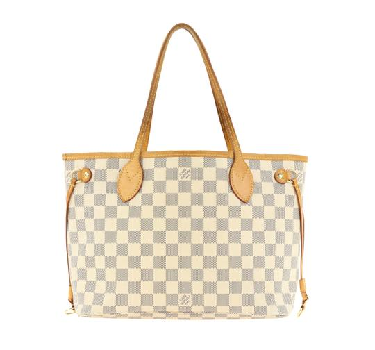 Louis Vuitton Neverfull Pm Damier Azur Tote in Blue Image 2