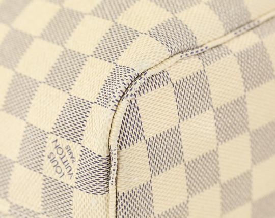Louis Vuitton Neverfull Pm Damier Azur Tote in Blue Image 3
