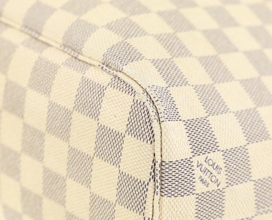 Louis Vuitton Neverfull Pm Damier Azur Tote in Blue Image 5