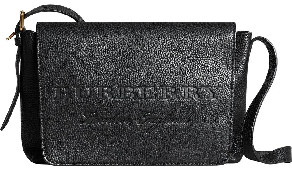 d18aa97e650 Burberry Small Burleigh Black Leather Cross Body Bag - Tradesy