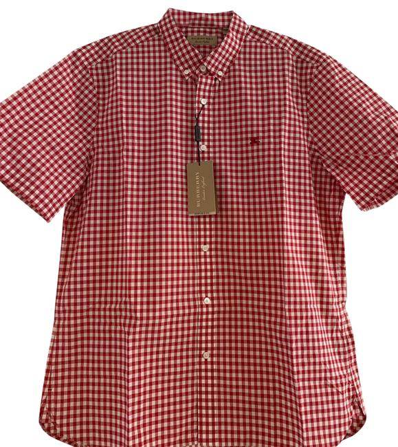 Item - Parade Red Men's Shirt Xxl Button-down Top Size OS (one size)