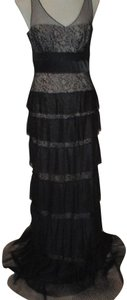 BCBGMAXAZRIA Lace Gown Sleeveless Dress