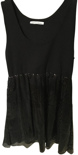 Item - Black Night Out Sequin Style Short Formal Dress Size 4 (S)