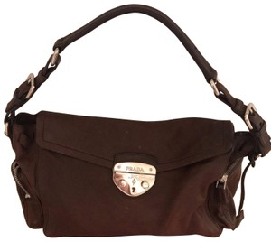 d1eaf4ea032a Prada Vintage Brown Leather Baguette - Tradesy