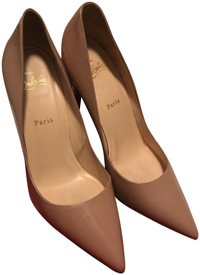 sports shoes 7b016 01603 Christian Louboutin Nude Pigalle 100 Patent Calf Pumps Size EU 40 (Approx.  US 10) Regular (M, B) 42% off retail