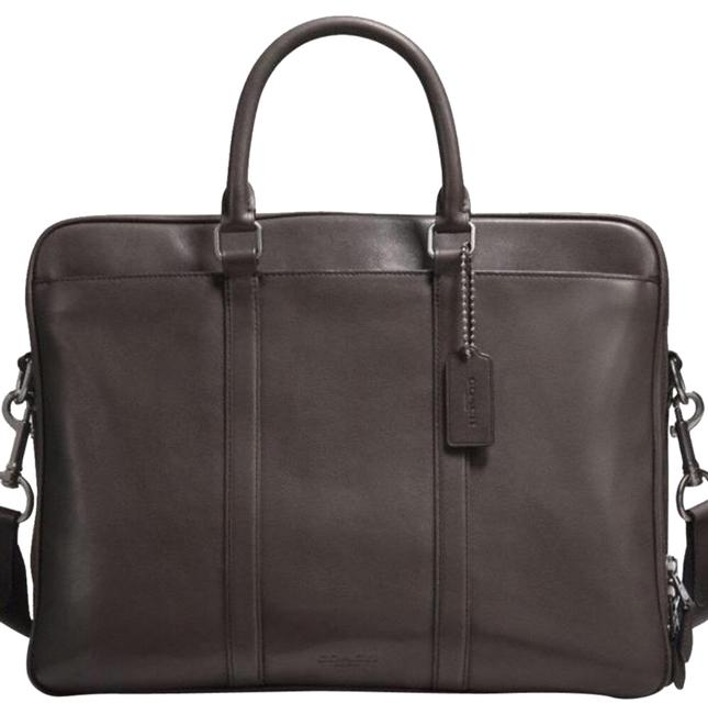 Item - Metropolitan Inspired By An Archival Design From The 1980s The Metro Commuter In Hand-burnished Is Streamlined For The Chestnut Sport Calf Leather Weekend/Travel Bag
