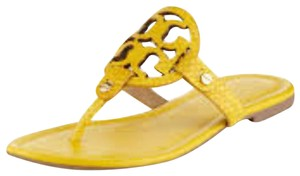 Tory Burch yellow/ mustard Sandals