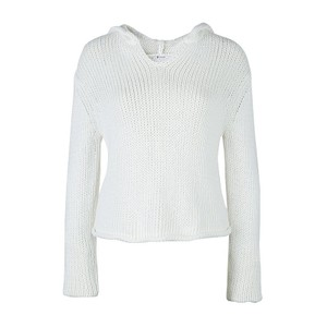 T by Alexander Wang Knit Cropped Cotton Sweatshirt