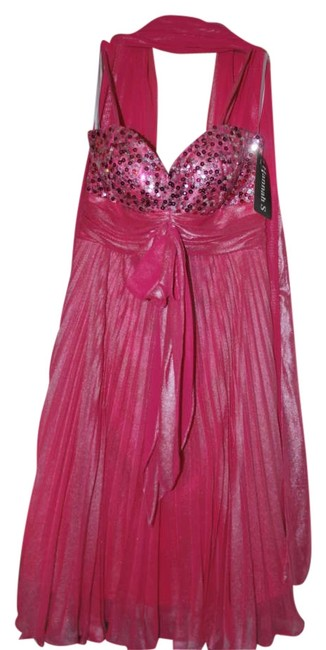 Preload https://item5.tradesy.com/images/hannah-s-hot-pink-fuchsia-juniors-party-above-knee-cocktail-dress-size-2-xs-252799-0-0.jpg?width=400&height=650