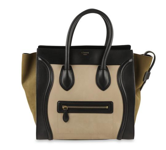 Preload https://img-static.tradesy.com/item/25279935/celine-luggage-mini-multicolor-suede-leather-tote-0-2-540-540.jpg