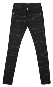 Isabel Marant Embroidered Skinny Jeans-Dark Rinse