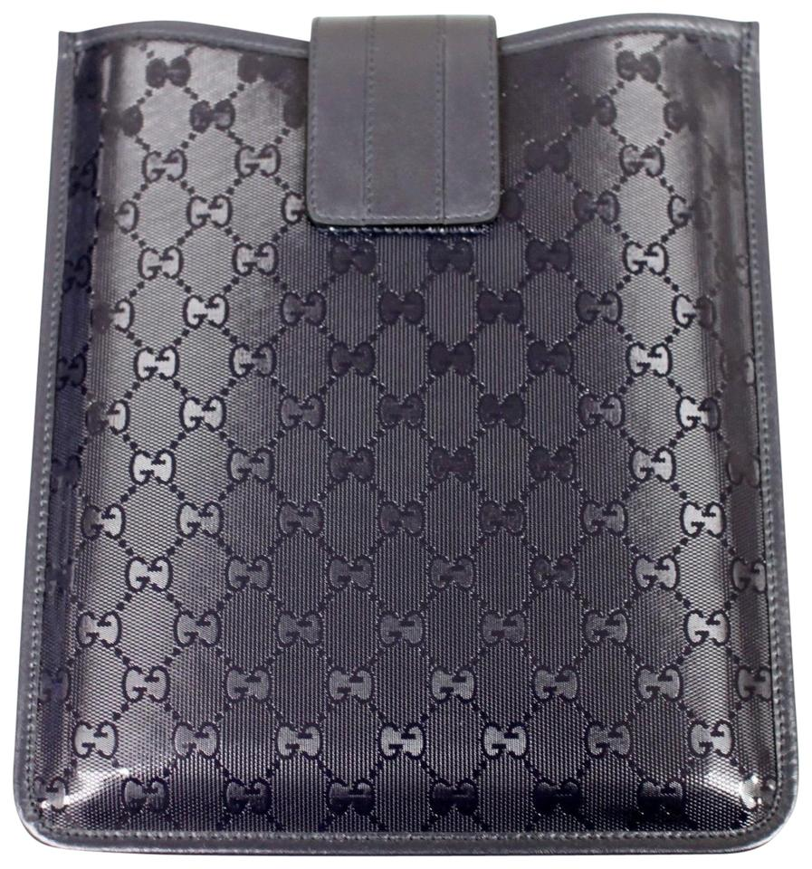 8a960204228b Gucci GUCCI GG Document/iPad/Tablet Case Navy Blue Imprime 256575 4009  Image 0 ...
