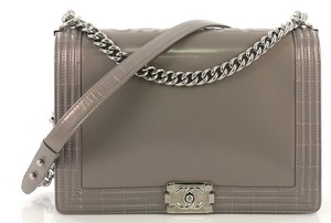 7813cd191c94 Added to Shopping Bag. Chanel Calfskin Large Shoulder Bag. Chanel Classic Flap  Boy Reverso Glazed ...