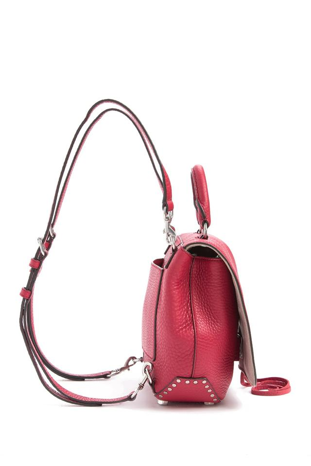 bb35ad91a Rebecca Minkoff Medium Darren Convertible Rugsack Red Leather ...