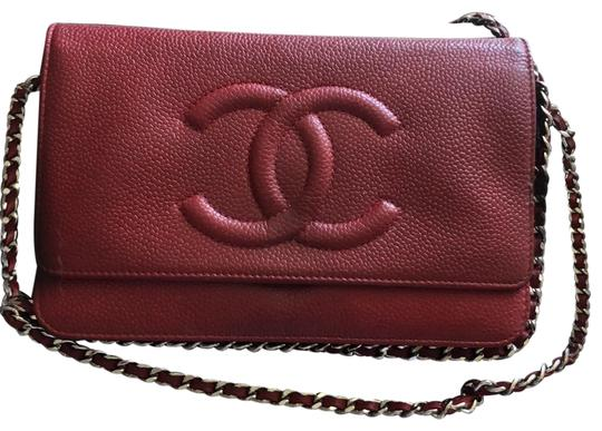 Preload https://img-static.tradesy.com/item/25280510/chanel-wallet-on-the-chain-red-leather-cross-body-bag-0-1-540-540.jpg