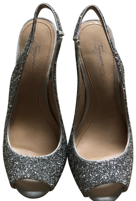 Item - Silver Im-pavi Platforms Size US 7.5 Regular (M, B)