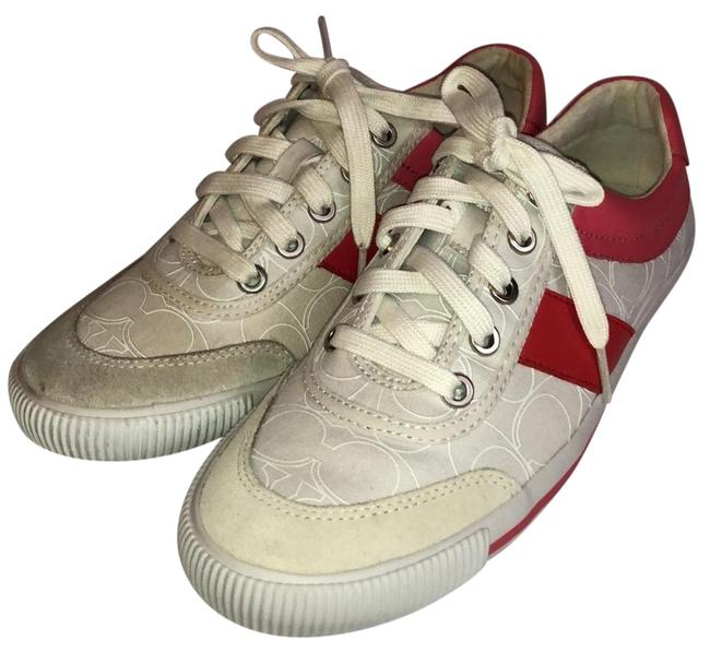 Item - White/Sherbert Cady Canvas A1236 Sneakers Size US 8 Regular (M, B)