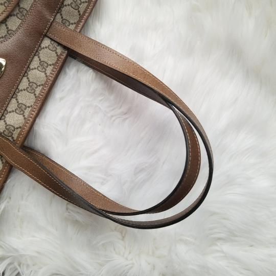 Gucci Vintage Vintage Vintage Vintage Purse Vintage Tote in Brown Image 5