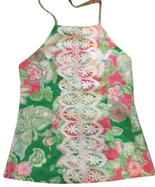 Preload https://img-static.tradesy.com/item/25281137/lilly-pulitzer-pink-green-white-halter-top-size-6-s-0-1-650-650.jpg
