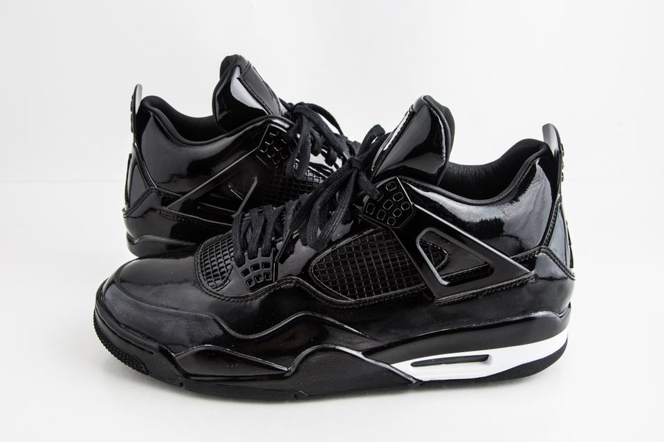 promo code 6d94f c258c Nike Black Jordan 4 Retro 11lab4 Shoes