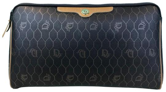 Preload https://img-static.tradesy.com/item/25281704/dior-brown-monogram-coated-canvas-pouch-make-up-sale-cosmetic-bag-0-1-540-540.jpg