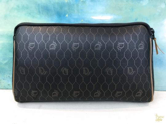 Dior Christian Dior Monogram Coated Canvas Cosmetic Pouch Make Up Bag SALE! Image 2