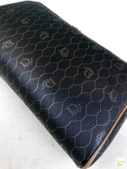 Dior Christian Dior Monogram Coated Canvas Cosmetic Pouch Make Up Bag SALE! Image 5