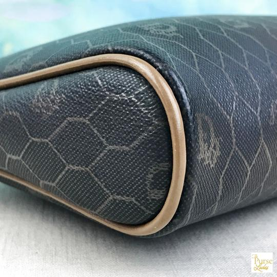 Dior Christian Dior Monogram Coated Canvas Cosmetic Pouch Make Up Bag SALE! Image 6