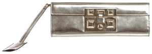 Gucci Silver Clutch
