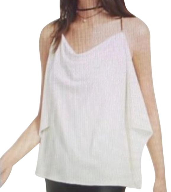 Preload https://img-static.tradesy.com/item/25281872/express-ivory-new-small-gold-chain-strap-blouse-tank-topcami-size-2-xs-0-1-650-650.jpg