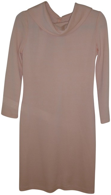 Preload https://img-static.tradesy.com/item/25281970/st-john-peach-mid-length-cocktail-dress-size-4-s-0-2-650-650.jpg