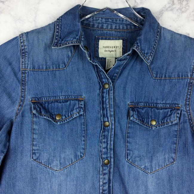 Forever 21 Button Down Shirt Image 1